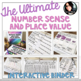 The Ultimate Number Sense and Place Value Binder Grades 4-5