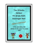 The Ultimate Outdoor 4th Grade Math Scavenger Hunt