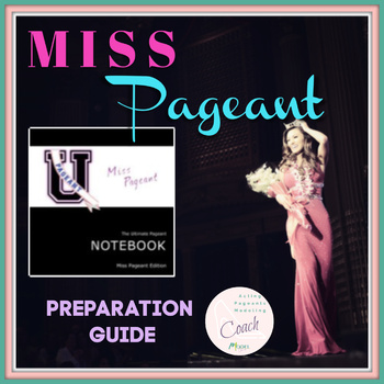 The Ultimate Pageant Notebook | Miss Pageants Edition