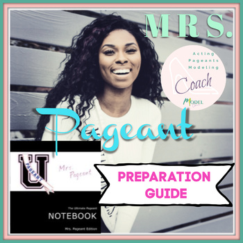 The Ultimate Pageant Notebook | Mrs Pageants Edition
