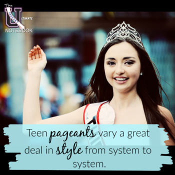 The Ultimate Pageant Notebook   Teen Pageants Edition