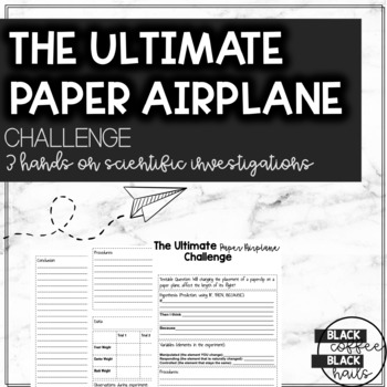 the ultimate paper airplane investigation by blackcoffeeblacknails