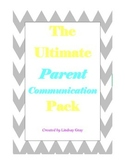 The Ultimate Parent Communication Pack