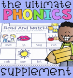 The Ultimate Phonics Supplement BUNDLE with Differentiation