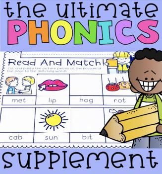 The Ultimate Phonics Supplement BUNDLE