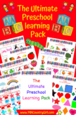 The Ultimate Preschool Learning Pack (260 Pages!)
