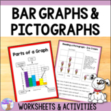 Graphing Activities for 2nd Grade - Bar Graphs & Pictographs
