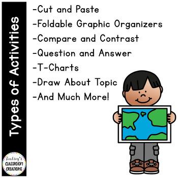 Social Studies Notebook / Journal - Ultimate Journal - 1st & 2nd grade!