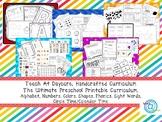Beginning Homeschool Printable Preschool Curriculum ZIP file. Over 2000 pages.