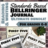 The Ultimate Reading and Writing Bellringer Journal Bundle