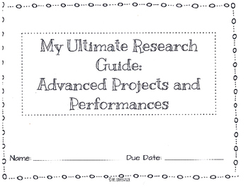The Ultimate Research Guide: 3rd-5th grade