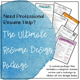 The Ultimate Resume Design Package