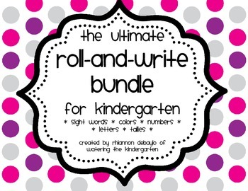 The Ultimate Roll and Write Bundle!