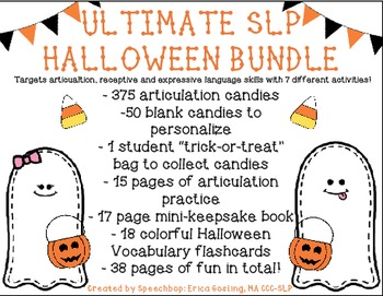 The Ultimate SLP Halloween Bundle!