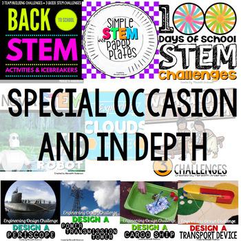 STEM Activities MEGA Bundle - Ultimate Elementary STEM