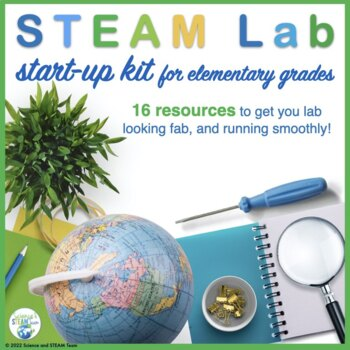 STEM Lab / Maker Space Starter Kit for Elementary grades