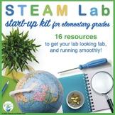 STEM Lab / Maker Space Starter Kit for Elementary grades  BUNDLE