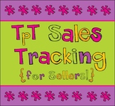 Sales Tracker for Sellers