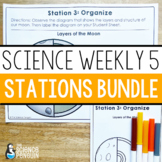 Science Weekly Five Stations Bundle {Science Centers}