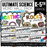 The Ultimate Science Word Wall Pack