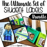 The Ultimate Set of Student Labels Bundle - Fits all Targe