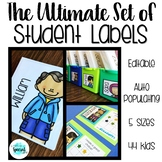 The Ultimate Set of Student Labels - Fits all Target labels!