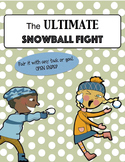 Ultimate Snowball Fight | Speech Therapy Open-Ended Game