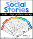 The Ultimate Social Skills Collection BUNDLE 1 (with 8 Social Story Units)
