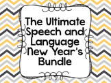 The Ultimate Speech and Language New Year's Bundle