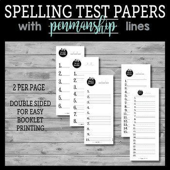 Ultimate Spelling Test Template Kit - includes awards, reminder notes and more