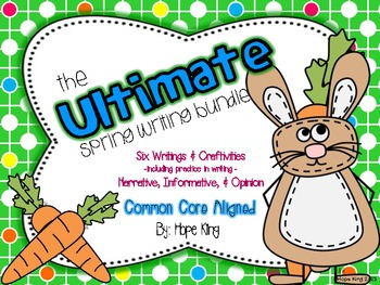 The Ultimate Spring Writing & Craft Bundle: 7 Activities A