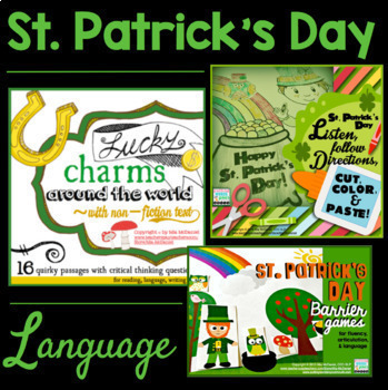The Ultimate St. Patrick's Day BUNDLE {for speech and language}
