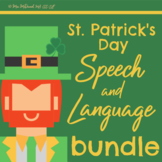 Speech and Language St. Patrick's Day BUNDLE
