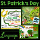 Speech and Language St. Patrick's Day GROWING BUNDLE