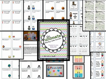 The Ultimate Sticky Note Bundle {100+ templates for your classroom}