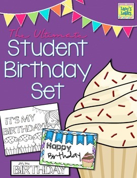 The Ultimate Student Birthday Set