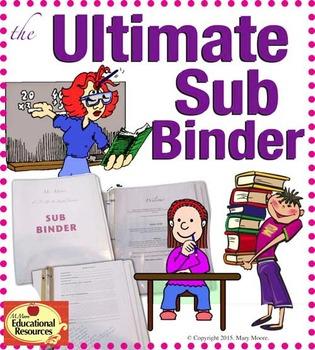 The Ultimate {Editable} Substitute Binder Bundle