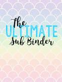 The Ultimate Substitute Binder! (EDITABLE!)