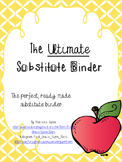 The  Ultimate Substitute Binder *EDITABLE*