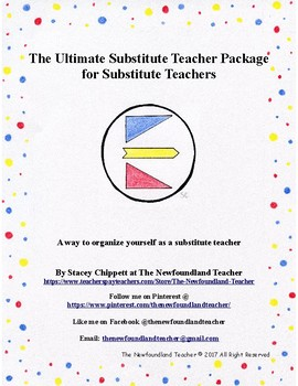 The Ultimate Substitute Teacher Package for Substitute Teachers