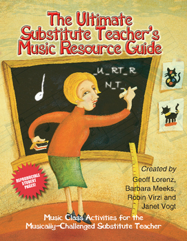 The Ultimate Substitute Teacher's Music Resource Guide for Grades K-4