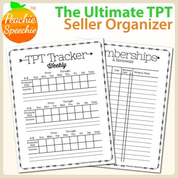 The Ultimate TPT Seller Organizer