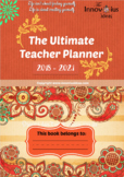 Inspirational Teacher Diary and Planner 2018-2021