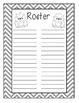 The Ultimate Teacher Planner - Monster Theme (b&w)