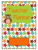 The Ultimate Teacher Planner - Owl Theme