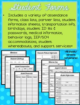 The Ultimate Teacher Planning and Grading Binder (Editable!)