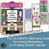 Relief Teacher and Substitute Binder - printable pack Sub plans and ideas