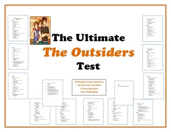 The Ultimate The Outsiders Test