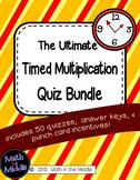 Timed Multiplication Quiz Packet