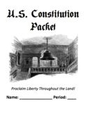 Ultimate U.S. Constitution Notes Packet (Perfect for Yearly Review)